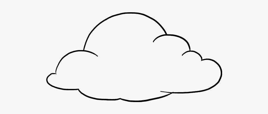 Clip Art How To Draw Really - Clouds To Draw, Transparent Clipart