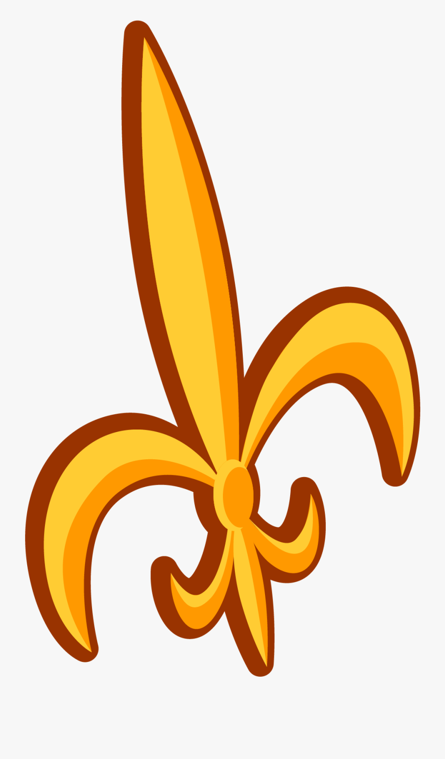 Fleur De Lis - Illustration, Transparent Clipart