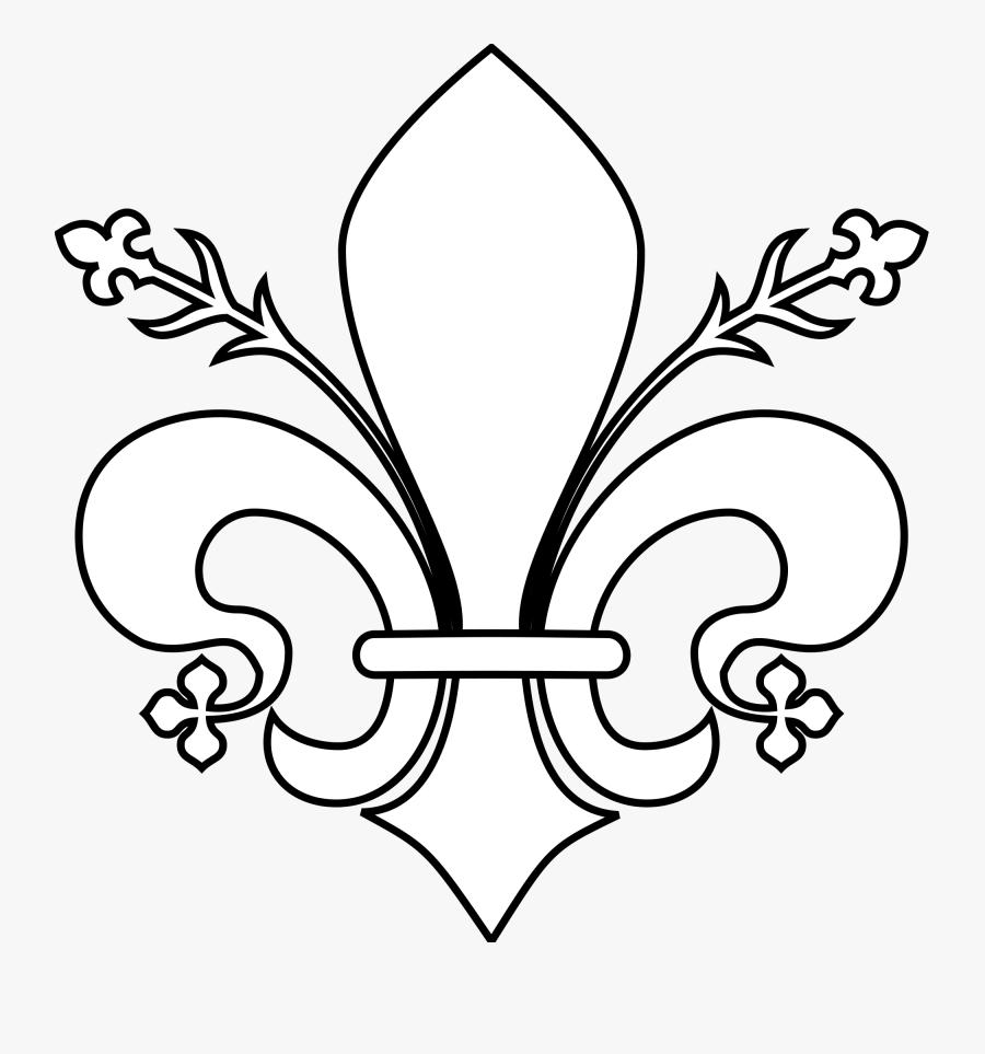 Fleur De Lis Png File Meuble Héraldique Fleur De Lis - Meuble Héraldique Lys, Transparent Clipart