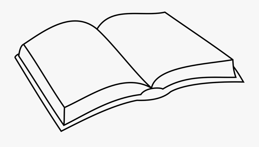 Book,open Book,reading,free Vector Graphics,free Pictures, - Simple Open Book Drawing, Transparent Clipart