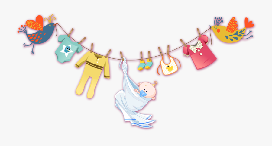 Donation Clipart Used Clothes - Cartoon Baby Clothes Png, Transparent Clipart