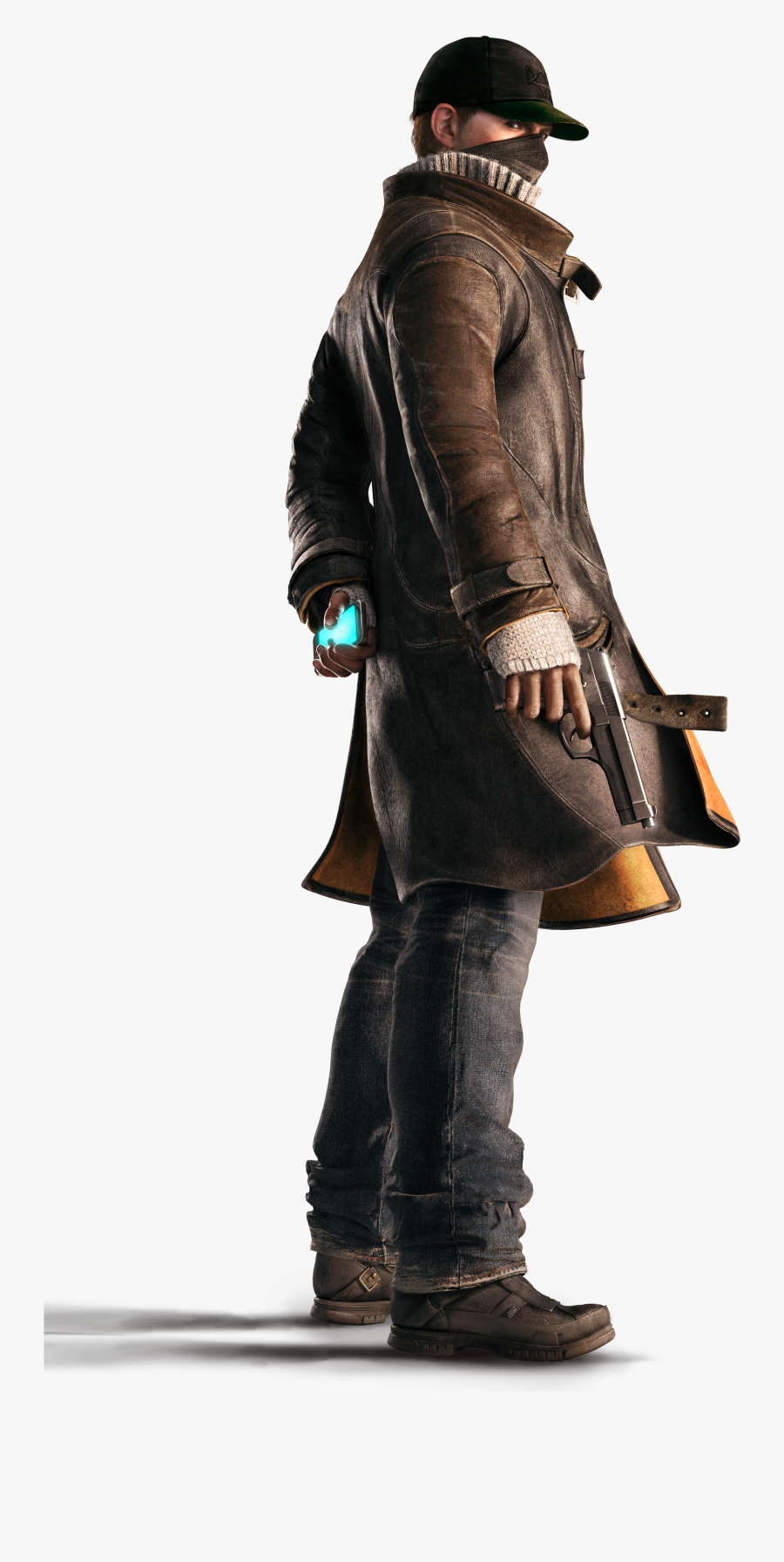 Watch Dogs Aiden Pearce, Transparent Clipart