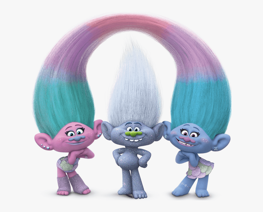 Image - Trolls Poppy Satin And Chenille, Transparent Clipart