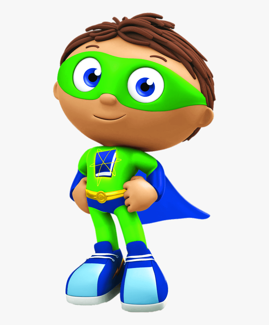 Transparent Super Why Clipart - Super Why Super, Transparent Clipart