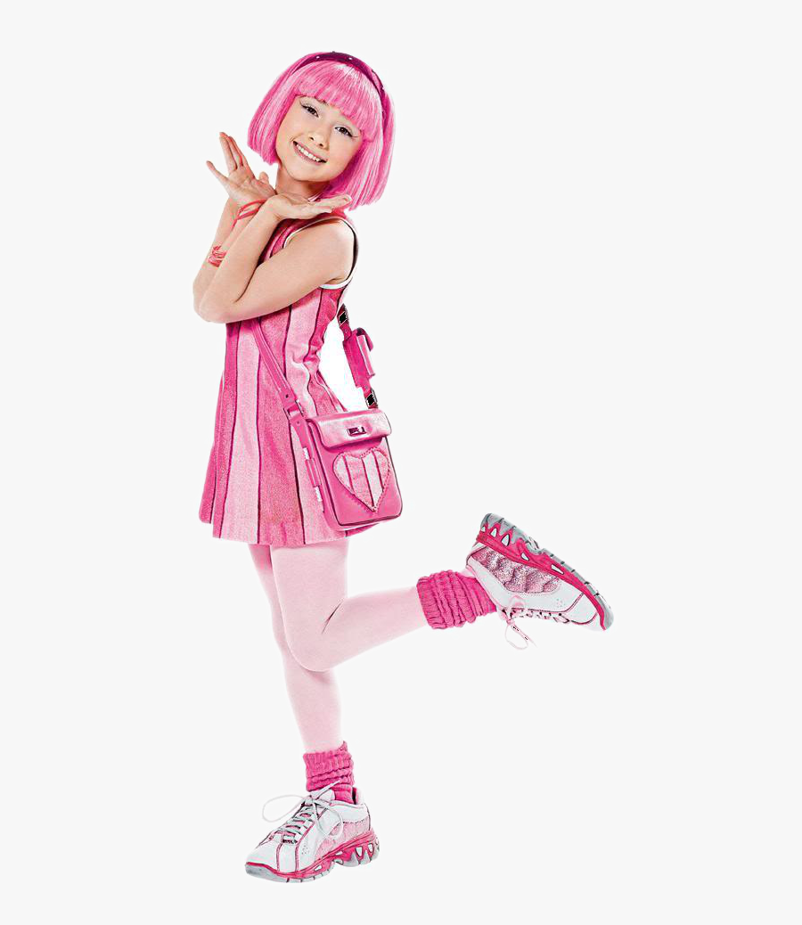 Lazy Town Main Character, Transparent Clipart