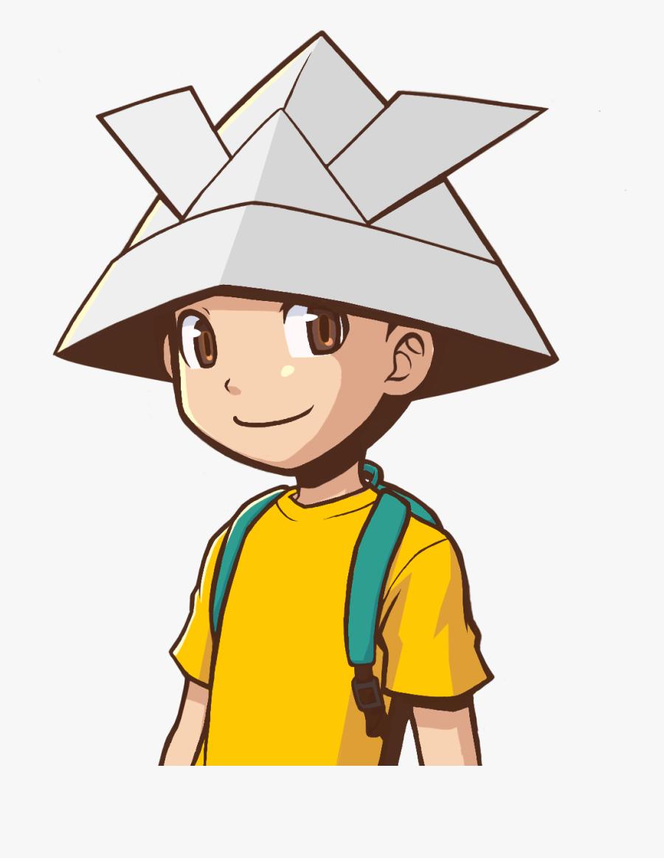 Sick Clipart Little Boy - Rakuen Game Boy, Transparent Clipart