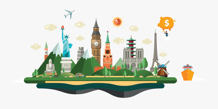 About Alpha Travel International - World Heritage Day Vector, Transparent Clipart