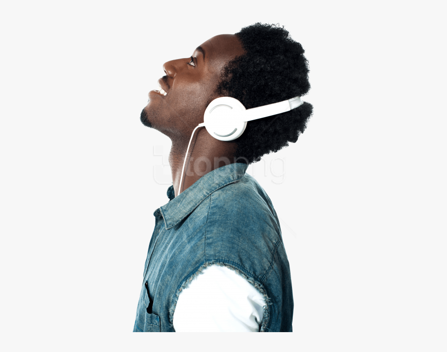 Listening To Music Png, Transparent Clipart