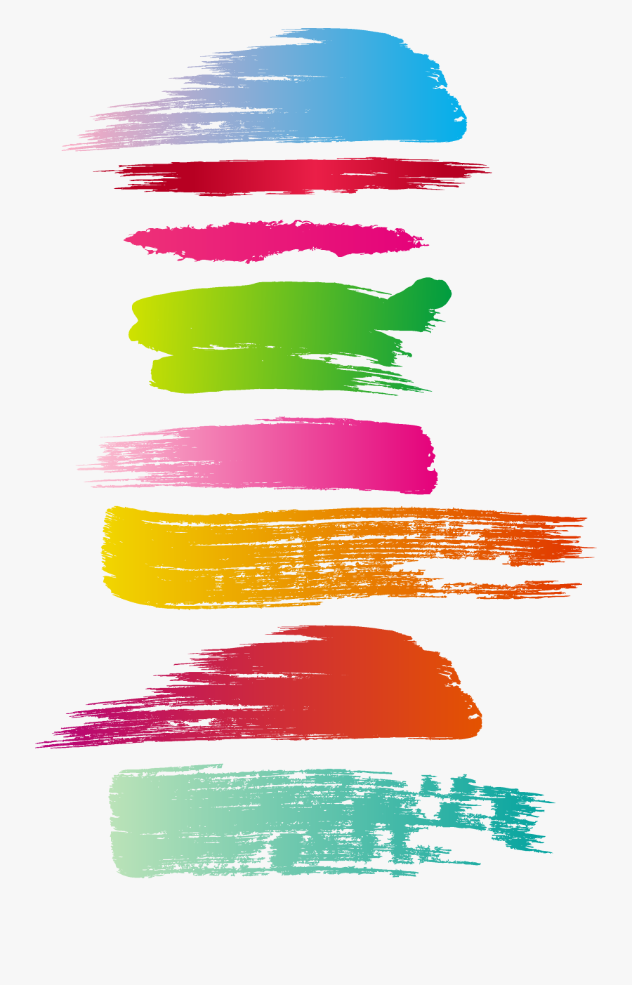 Paintbrush Watercolor Painting Ink Brush Abstract Illustration - Paint Illustrator, Transparent Clipart