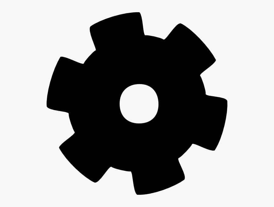 Transparent Gear Vector Png - Free Clip Art Gear, Transparent Clipart