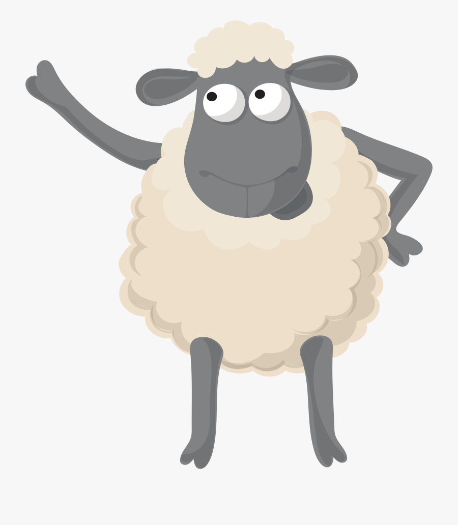 Sheep Clipart Eid - Arabic Eid Ul Adha Mubarak, Transparent Clipart