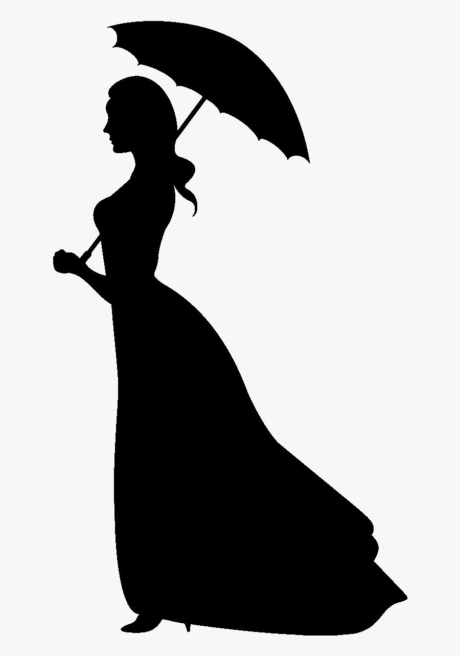 Princess Aurora Silhouette Cinderella The Walt Disney - Cinderella Walt Disney Characters, Transparent Clipart
