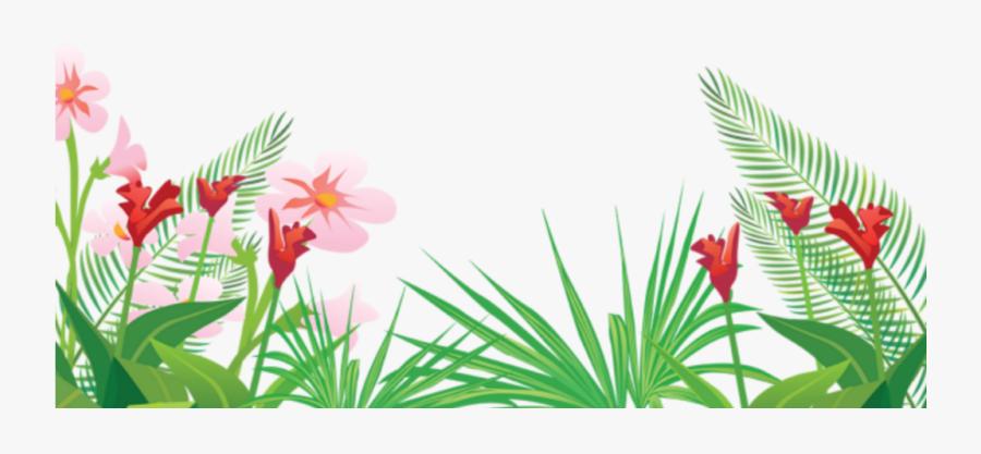 #tropical #summer #palm #tree #palmera #summerfun #summerflowers - Vector Tropical Flower Png, Transparent Clipart