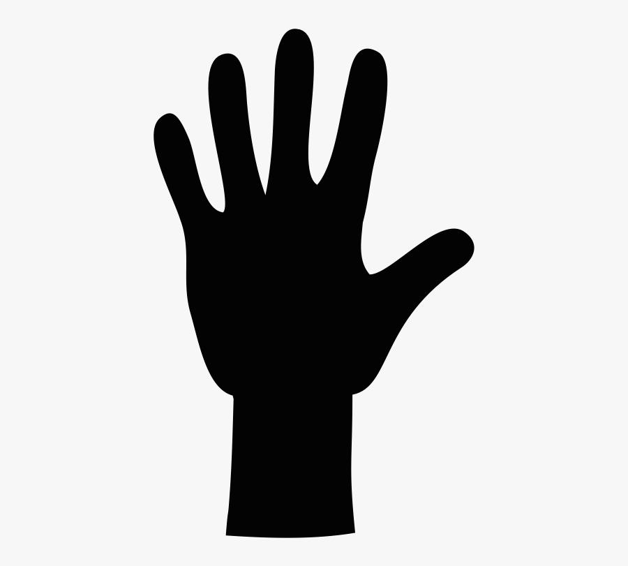 Current Volunteer Opportunities - Black Clip Art Hand, Transparent Clipart