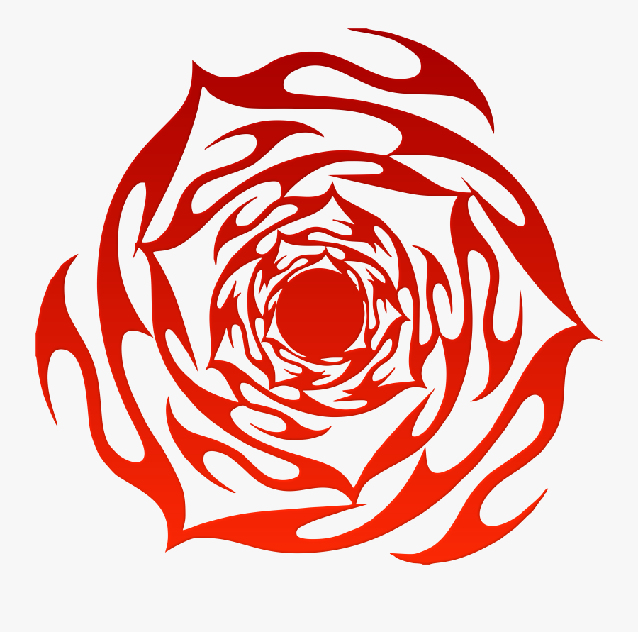 Rose Tattoo Isolated Stock - Clip Art, Transparent Clipart