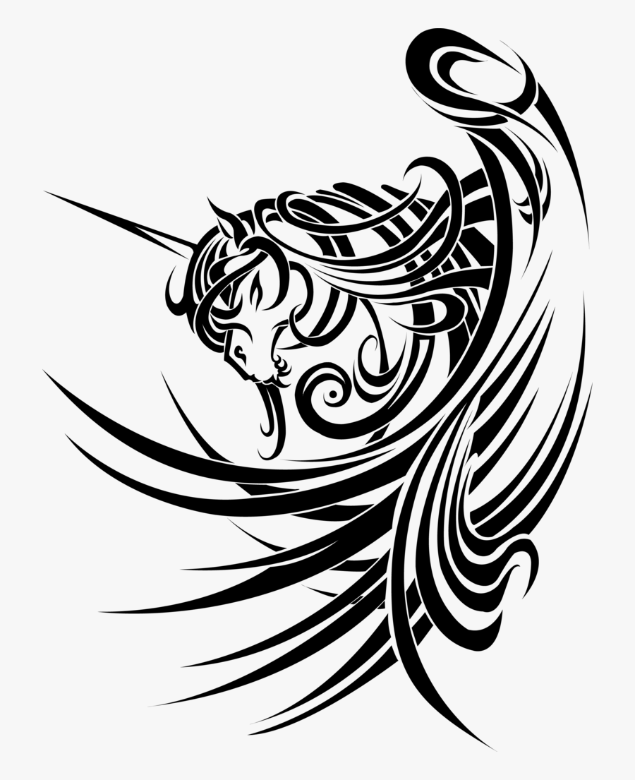 Vectorial Drawing Tribal - Tribal Designs, Transparent Clipart