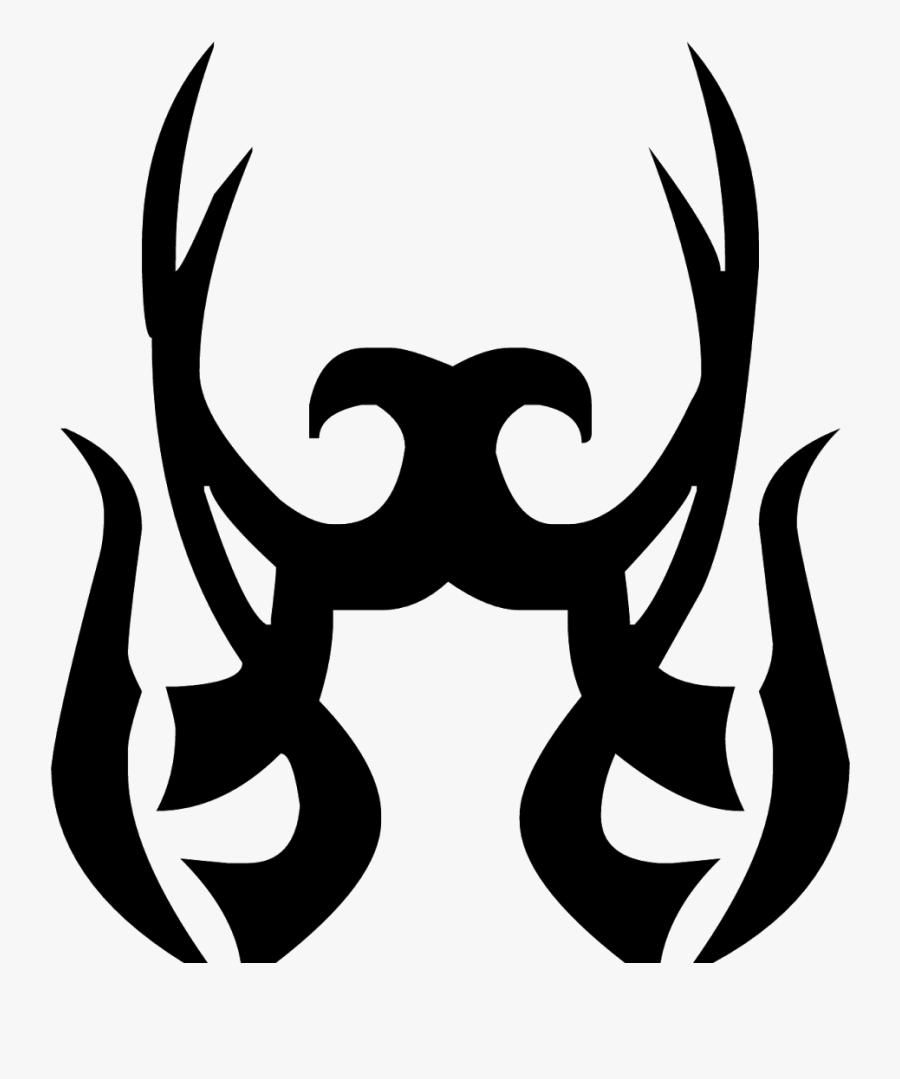 Transparent Tattoo Png - Tribal Tattoo Design, Transparent Clipart