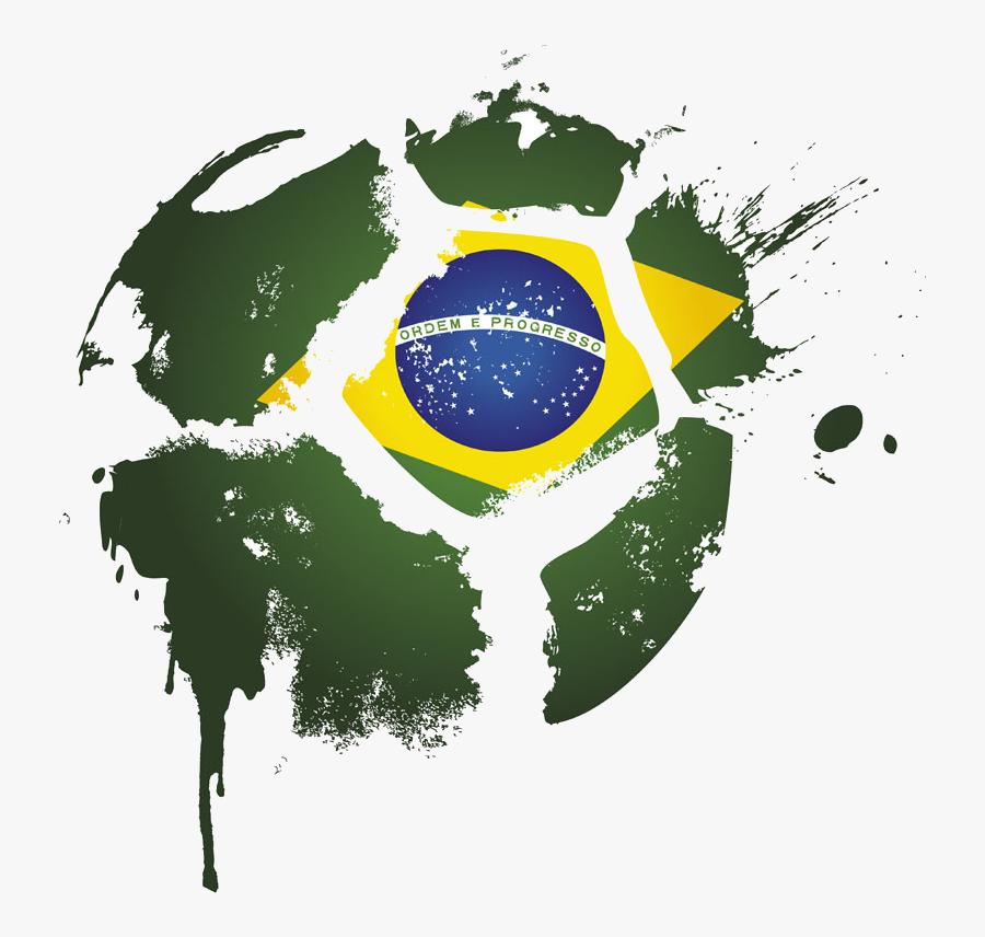 Brazil Logo National Football Team Free Png Hq Clipart - Brazil Football Team Logo Png, Transparent Clipart