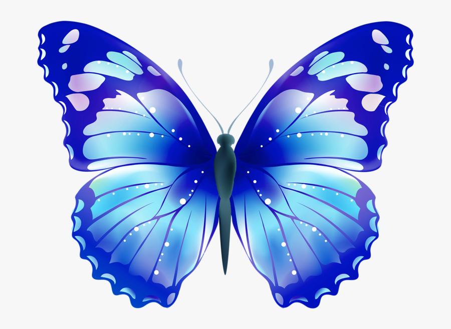 Transparent Butterflies Clipart - Clip Art Lavender Butterfly, Transparent Clipart
