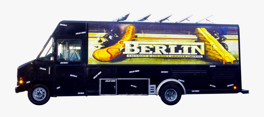 Transparent Food Truck Clipart - Commercial Vehicle, Transparent Clipart