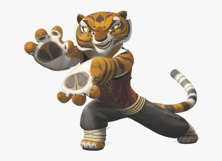 Kung Fu Panda Tiger - Kung Fu Panda Tigris, Transparent Clipart