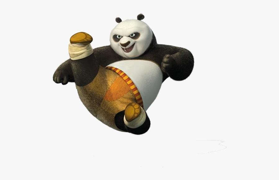 Kung Fu Panda Png Transparent - Kung Fu Panda Transparent, Transparent Clipart