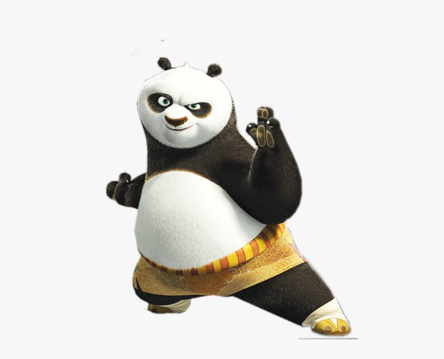 Transparent Po Png Kung Fu Panda Characters Po Free Transparent Clipart Clipartkey