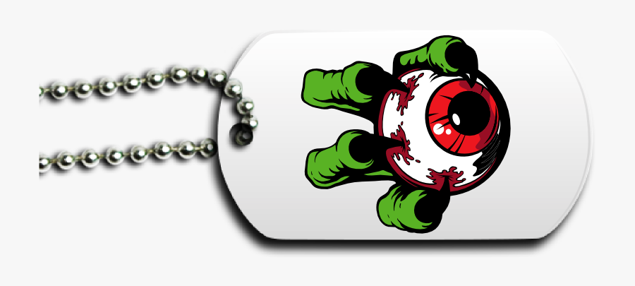 Monster Eyeball Dog Tag Front - Happy Mothers Day Dog, Transparent Clipart