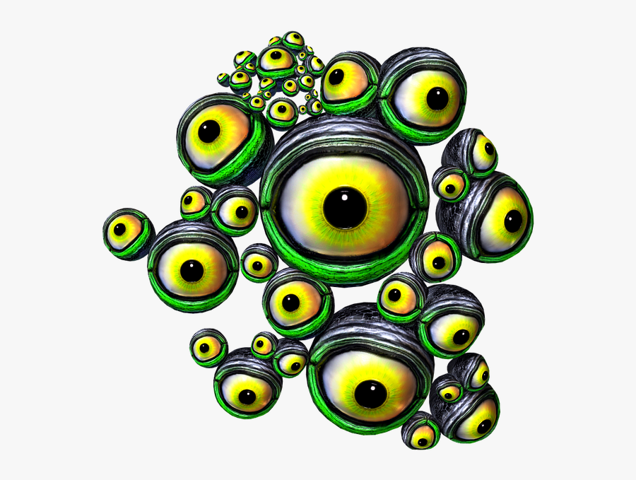 Eyeballs Eyes Creature Free Picture - Eyes Png Creature, Transparent Clipart