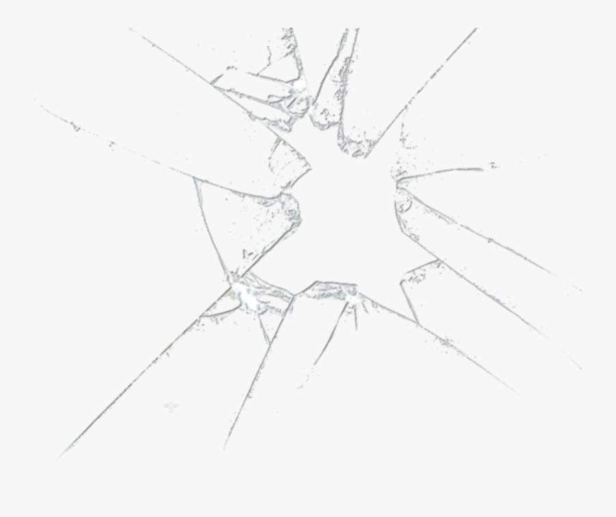 Transparent Shattered Glass Png - Broken Glass No Background, Transparent Clipart