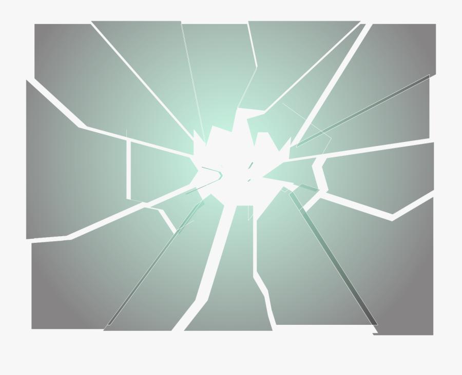 Transparent Glass Broken Png - Shatter Transparent, Transparent Clipart