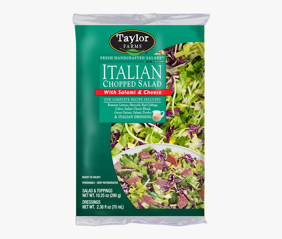 Taylor Farms Salad Italian, Transparent Clipart
