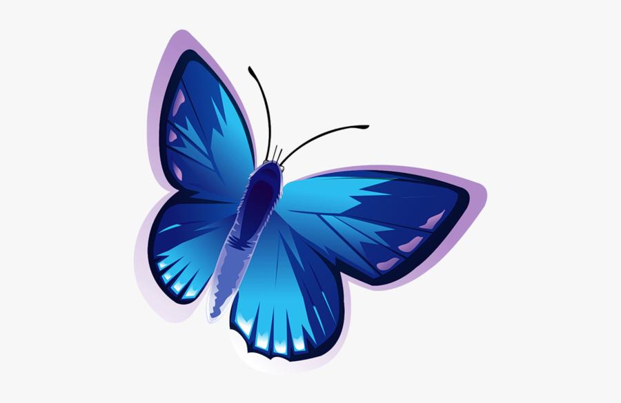 Clipart Butterfly Cartoon Blue Butterfly, Transparent Clipart