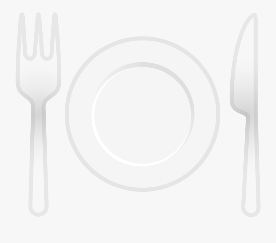 Spoon And Fork Emoji Png, Transparent Clipart