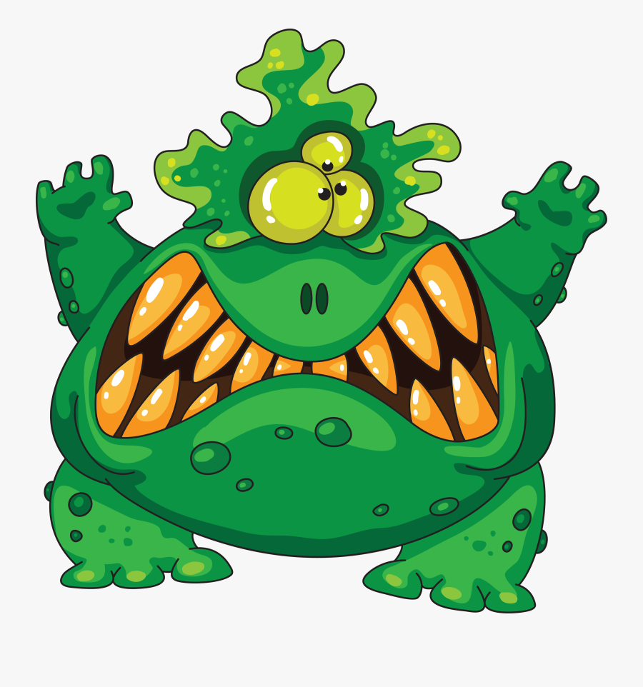 Hunter Clipart Kid Hunting - Scary Monster Clipart, Transparent Clipart