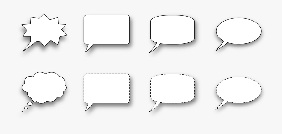 Angle,area,text - Speech Bubble, Transparent Clipart