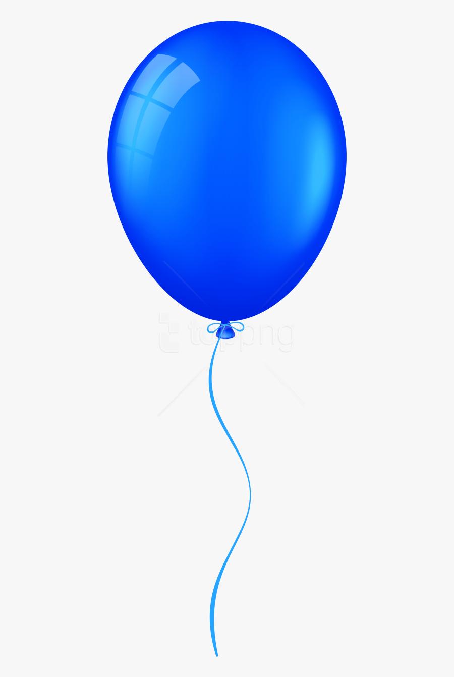 Blue Balloon Png - Balloon Clipart Transparent Background, Transparent Clipart