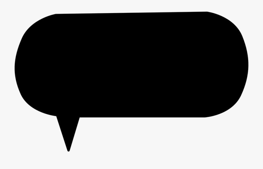Transparent Dialogue Clipart - Balão De Conversa Quadrado Png, Transparent Clipart