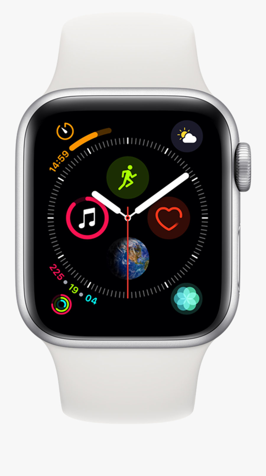 Watch,analog Accessory,fashion Accessory - Infographic Apple Watch Face, Transparent Clipart