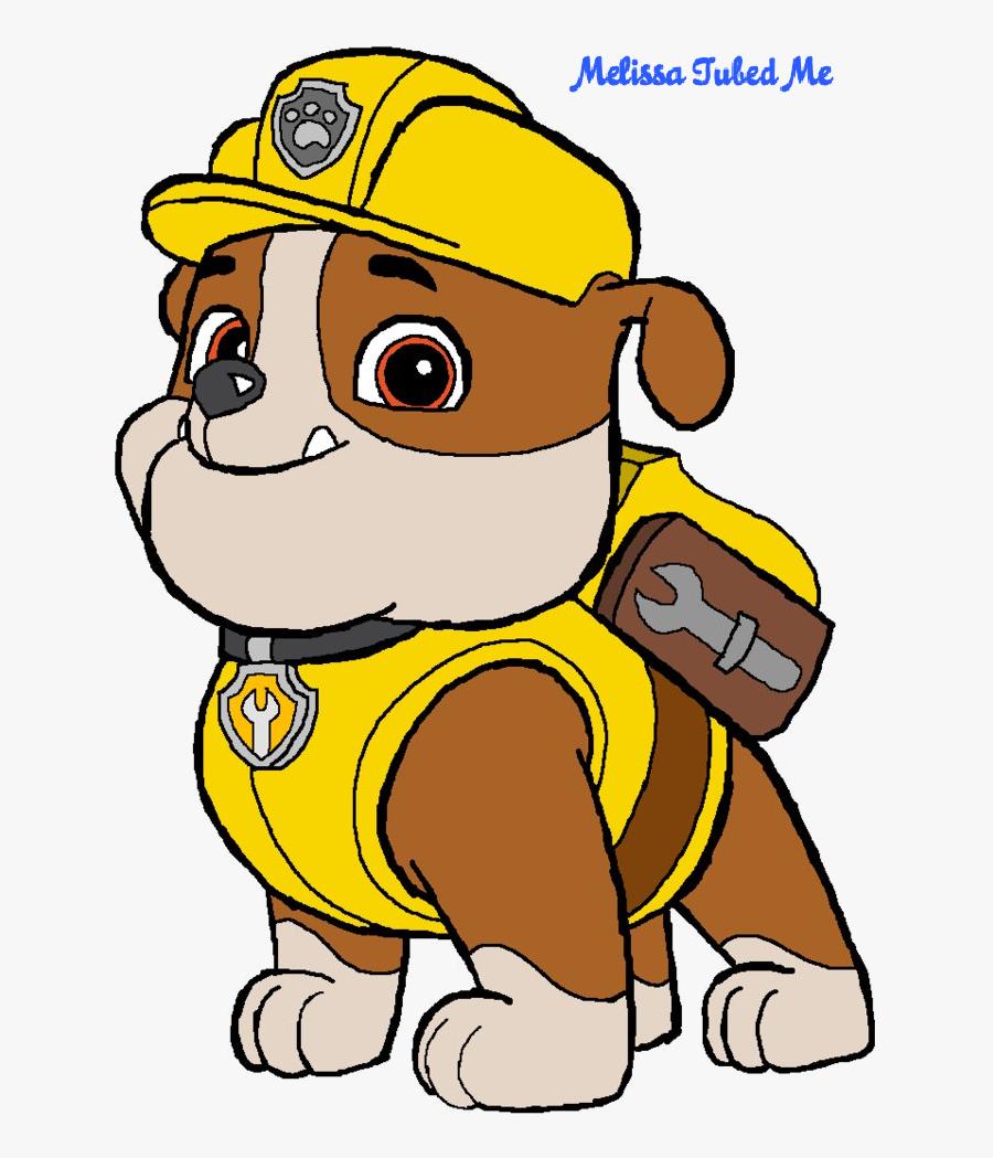 Transparent Rubble Png - Rubble Paw Patrol Cartoon, Transparent Clipart