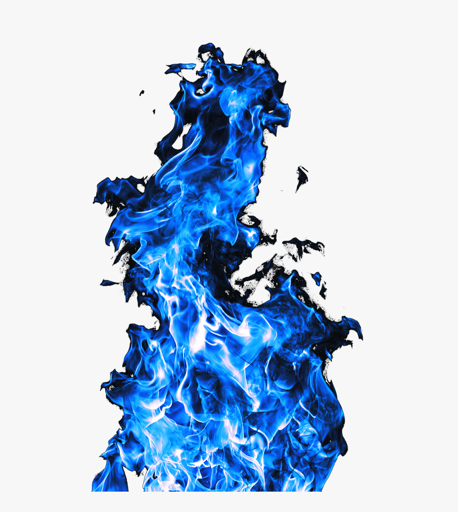 Blue Flame Transparent Images - Fire Blue Flame Png, Transparent Clipart