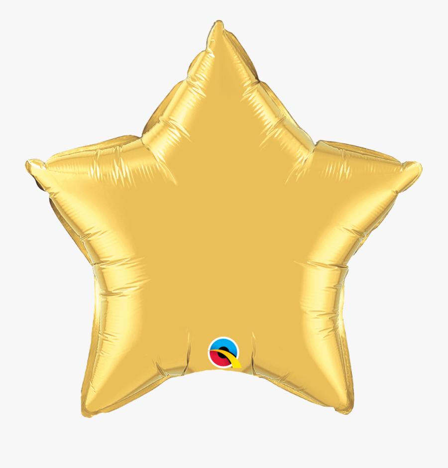 Gold Foil Png - Foil Balloons Eid Mubarak, Transparent Clipart