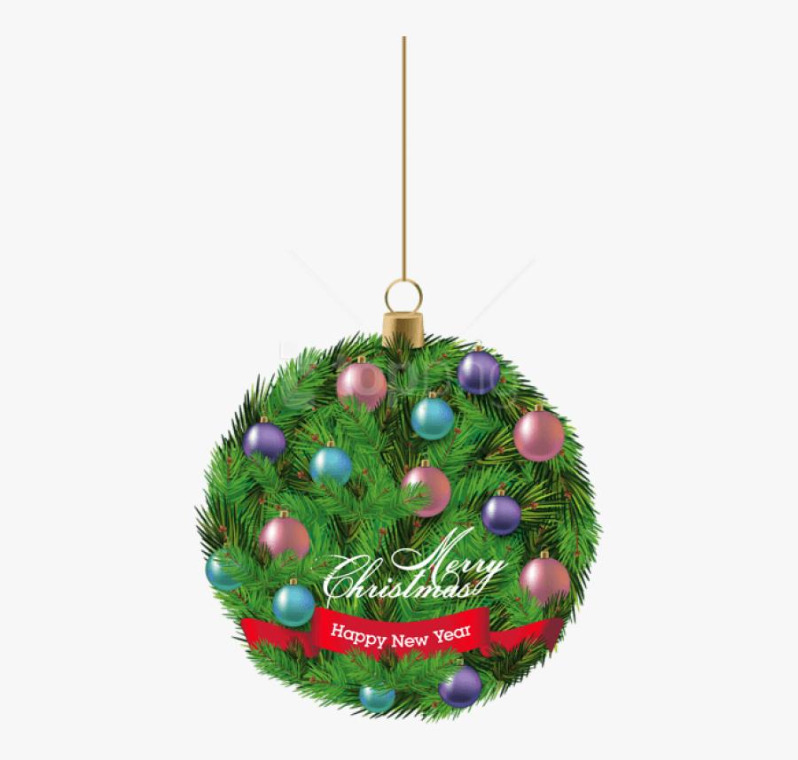 Hanging Christmas Ornaments Png Download - Christmas Day, Transparent Clipart