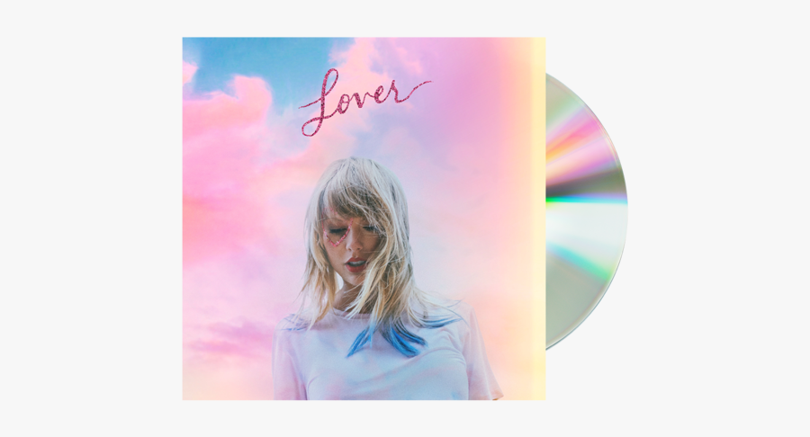 Taylor Swift Lover Cd, Transparent Clipart