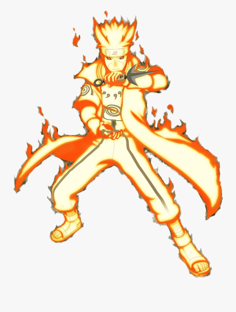 Naruto Nine Tails Png Minato Namikaze Bijuu Mode Free Transparent Clipart Clipartkey