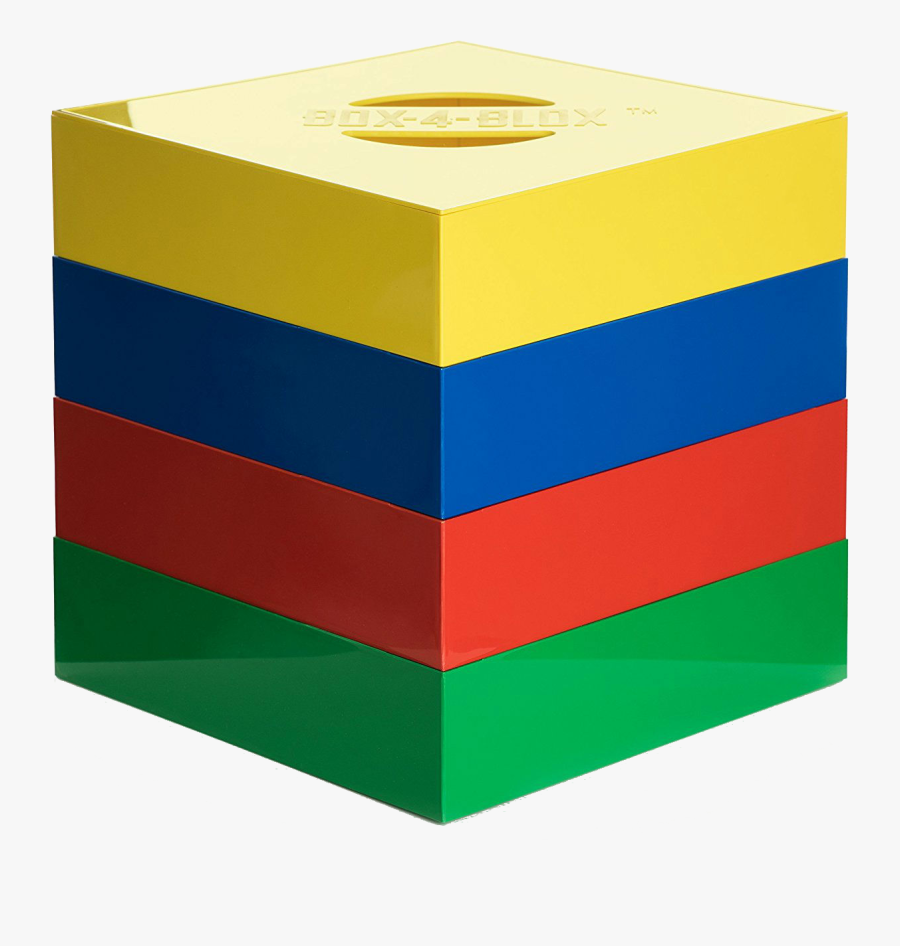 Lego Clipart Square - Lego Sorting Box, Transparent Clipart