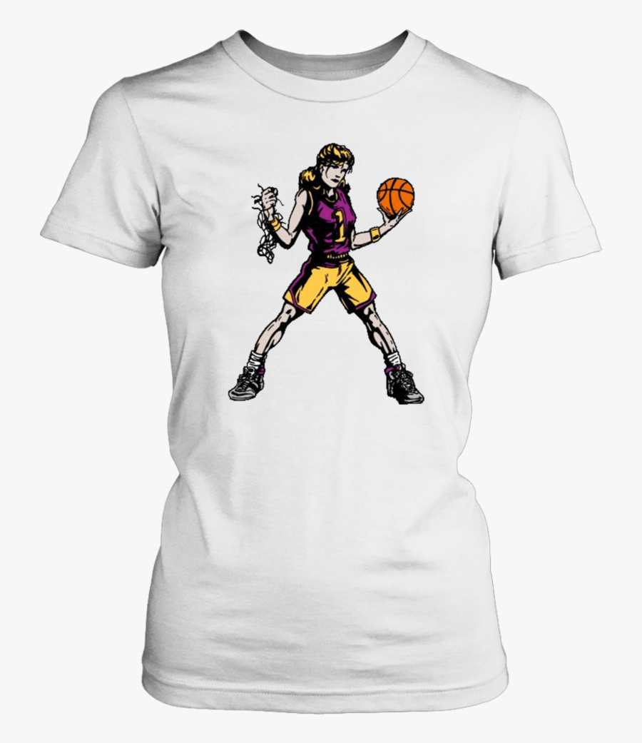 Girls Basketball High School Shirt- Bison Basketball - Don T Play Tag I Been, Transparent Clipart
