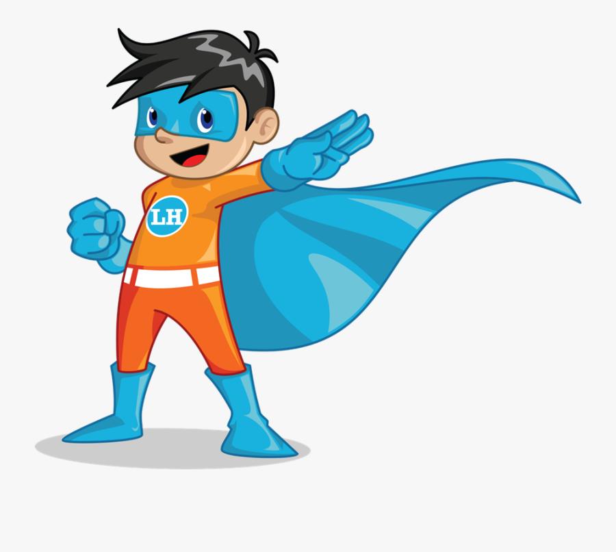 Superhero Png Boy - Super Kid Clipart, Transparent Clipart