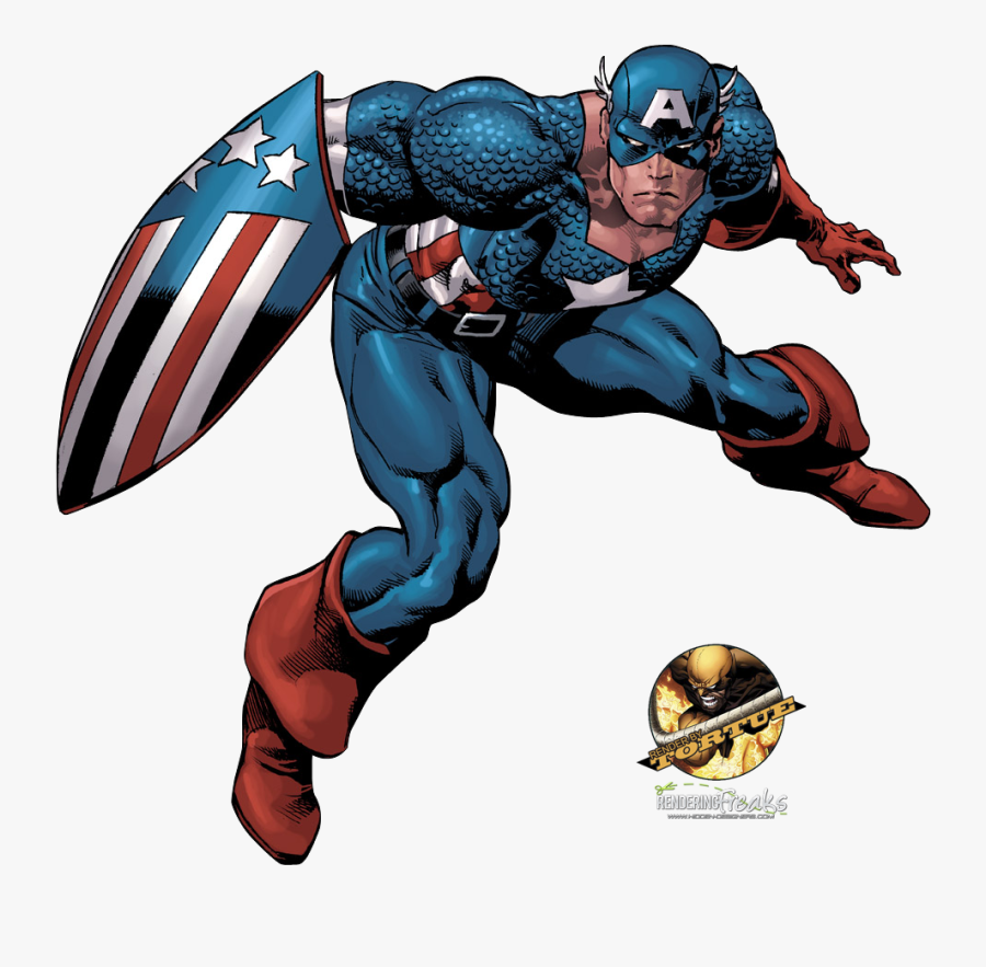 Mike Deodato Jr Captain America, Transparent Clipart