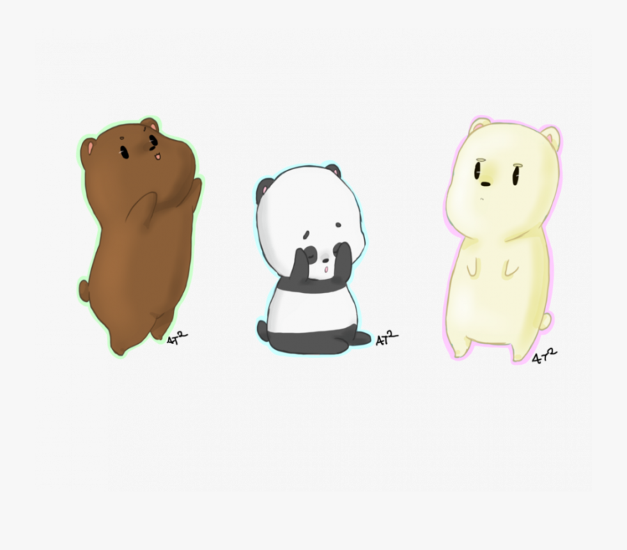 Cute Drawings From We Bare Bears, Transparent Clipart